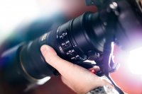 Profesjonalny aparat fotograficzny
